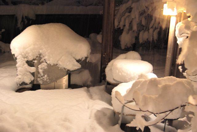 Snowpatio